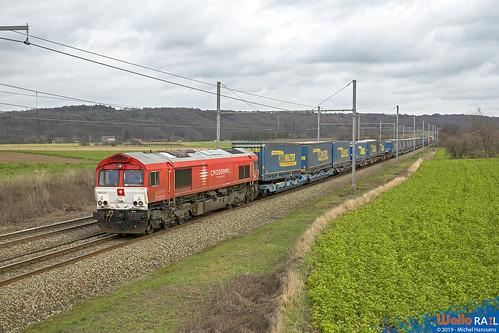 PB 03 Crossrail . Z 43590 . Warsage . 15.01.19.