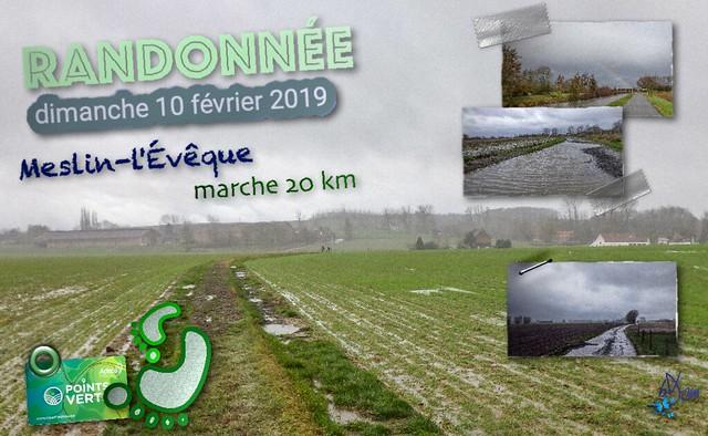 2019 - randonnée - Meslin-l'Évêque