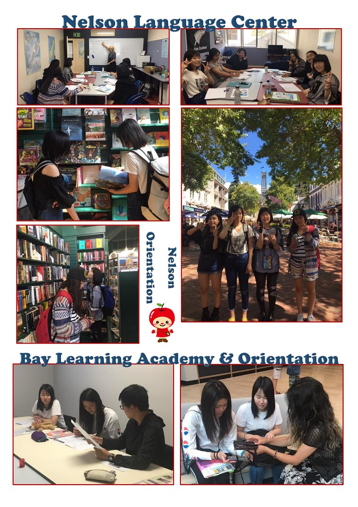 language schools and orientations