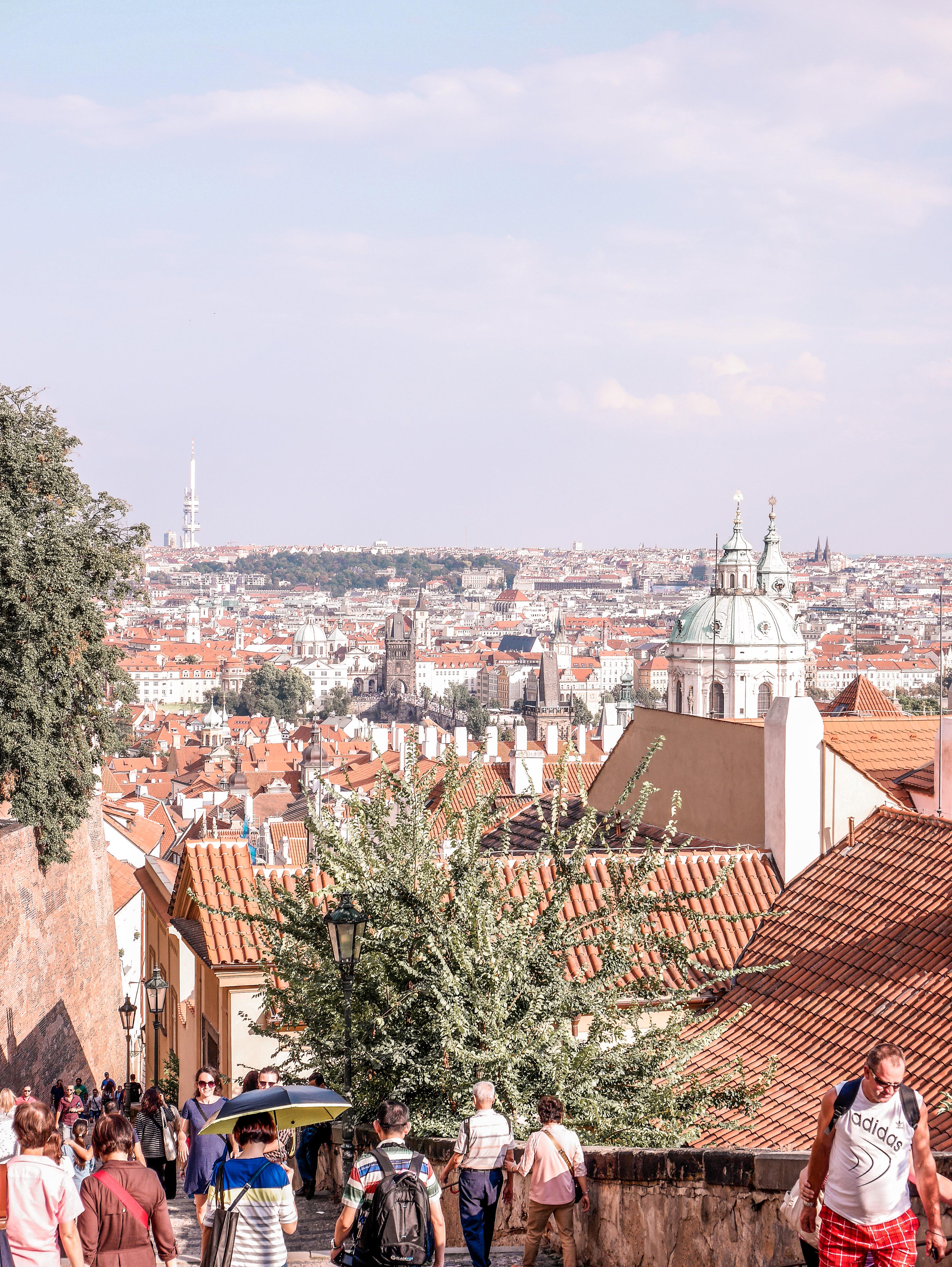 Prahan linnan maisemat