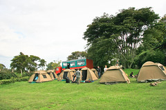Campsite near Lake Nakuru