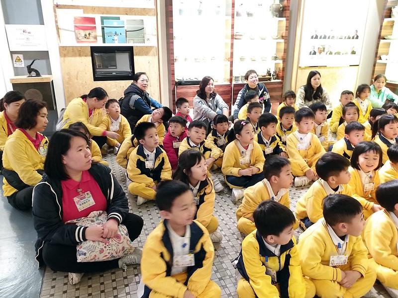 家長義工協助愛級(K3)參觀稻鄉飲食文化博物館