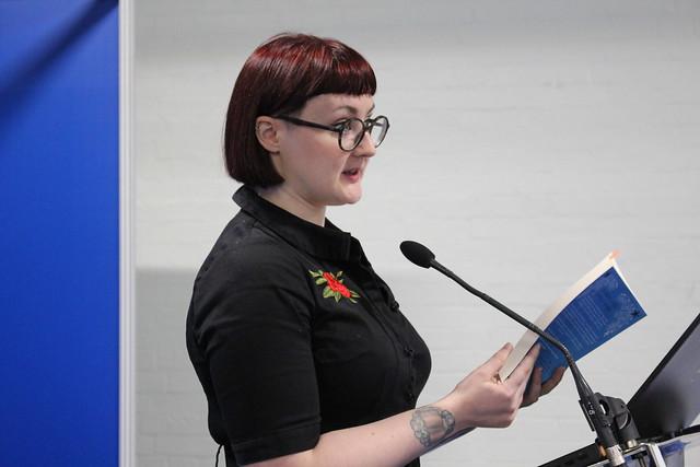 Kirsty Logan - London Book Fair 2019