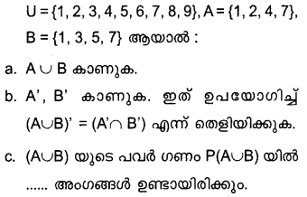 Plus One Maths Model Question Papers Paper 2Q12