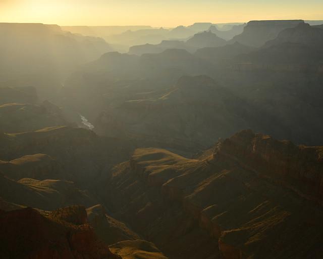 Vistas del Gran Cañón desde el Desert View