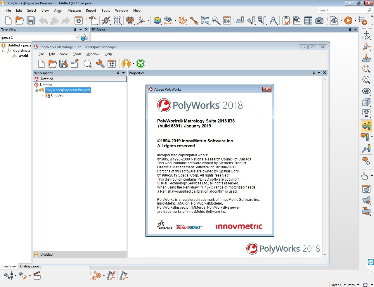 Working with InnovMetric PolyWorks Metrology Suite 2018 IR8 full