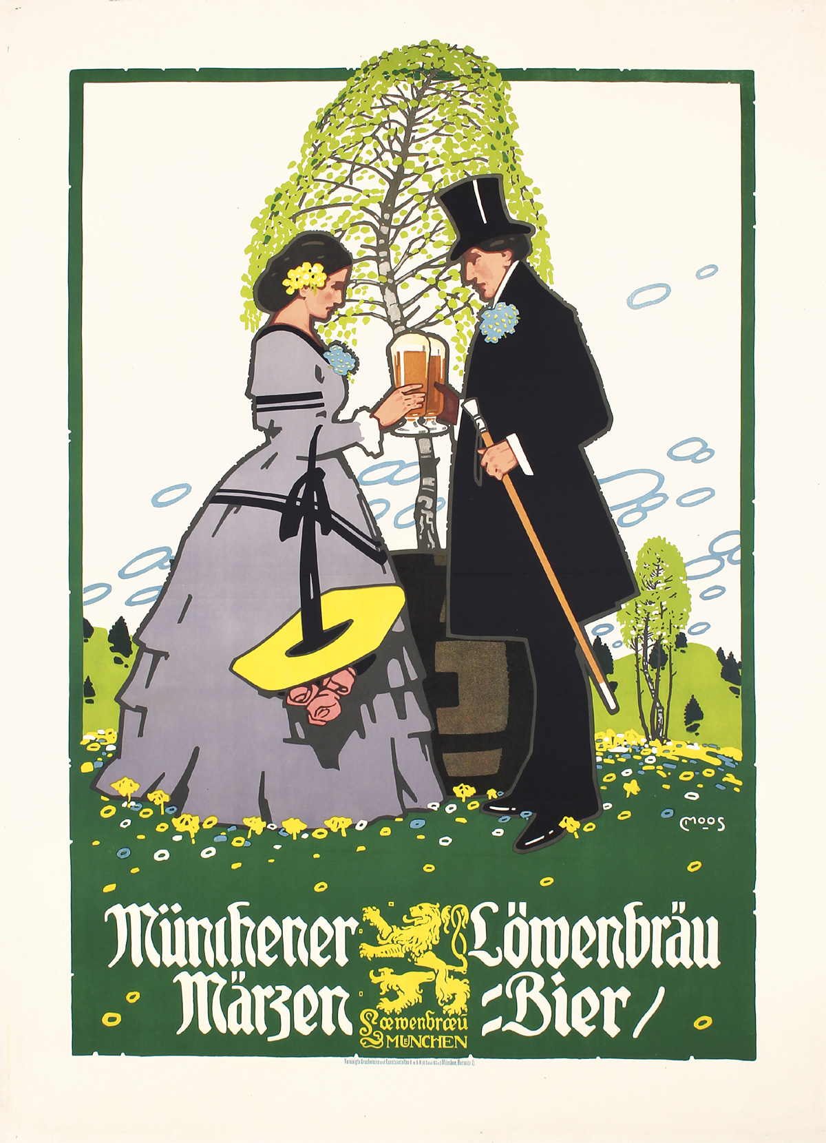 Lowenbrau-1900-Carl-Moos