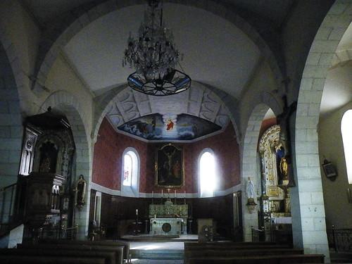 20090601 059 1111 Jakobus Castetnau Kirche Altarraum