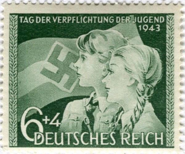 Známka Nemecká ríša 1943 Deň mládeže