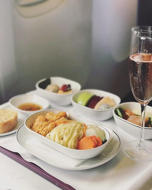 Royal Silk Class In-flight Meal - Thai Airways