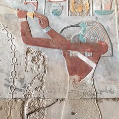Original Egyptian paint