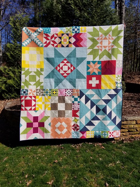 Jill K quilted by Jeanine