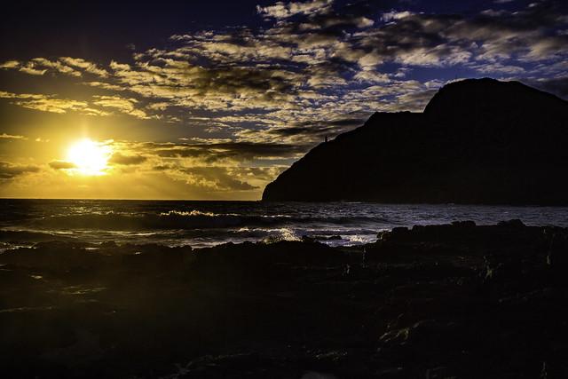 The Rising Sun In Hawaii