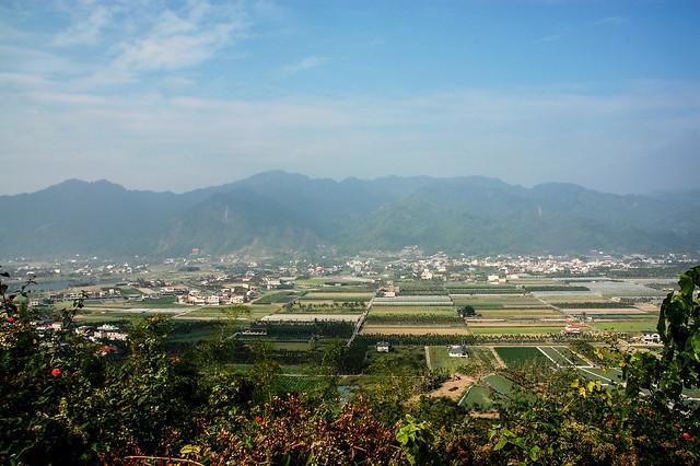 竹山口山遠眺月光山稜脈 2