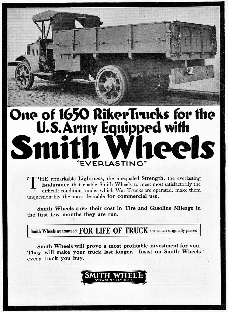 Smith Wheel Inc. 1917