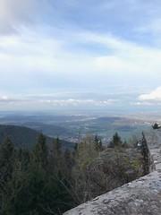 le mont Ste Odile avec le plan des villes et sa vue... - Photo of Natzwiller