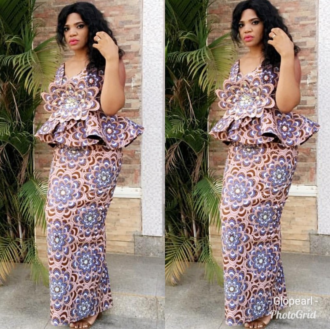 Ankara Styles 2020 SKIRTS AND BLOUSE,GOWNS,JUMPSUITS 3