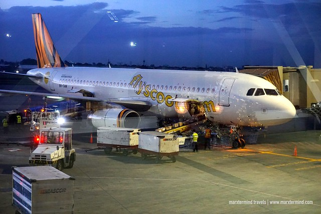 Scoot in Manila - Airbus A320
