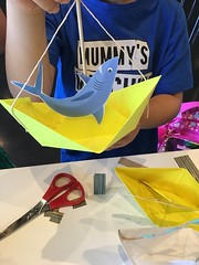 Paper boat craft