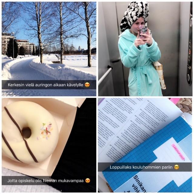 Snapchat kooste - Helmikuu