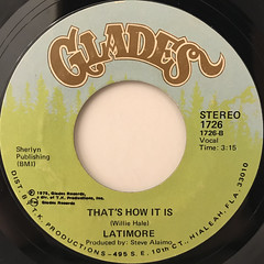 LATIMORE:KEEP THE HOME FIRE BURNIN'(LABEL SIDE-B)