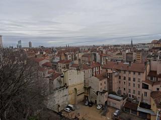 Hình ảnh của Immeuble. lyon placerouville toits france immeubles town hiver