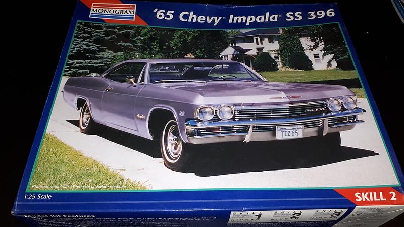 Monogram 1965 Impala