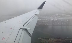 #WindowView #landing of a #rainy and #foggy day in #newJersey