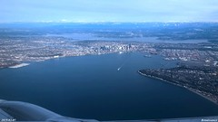 Aerial Views of Seattle
