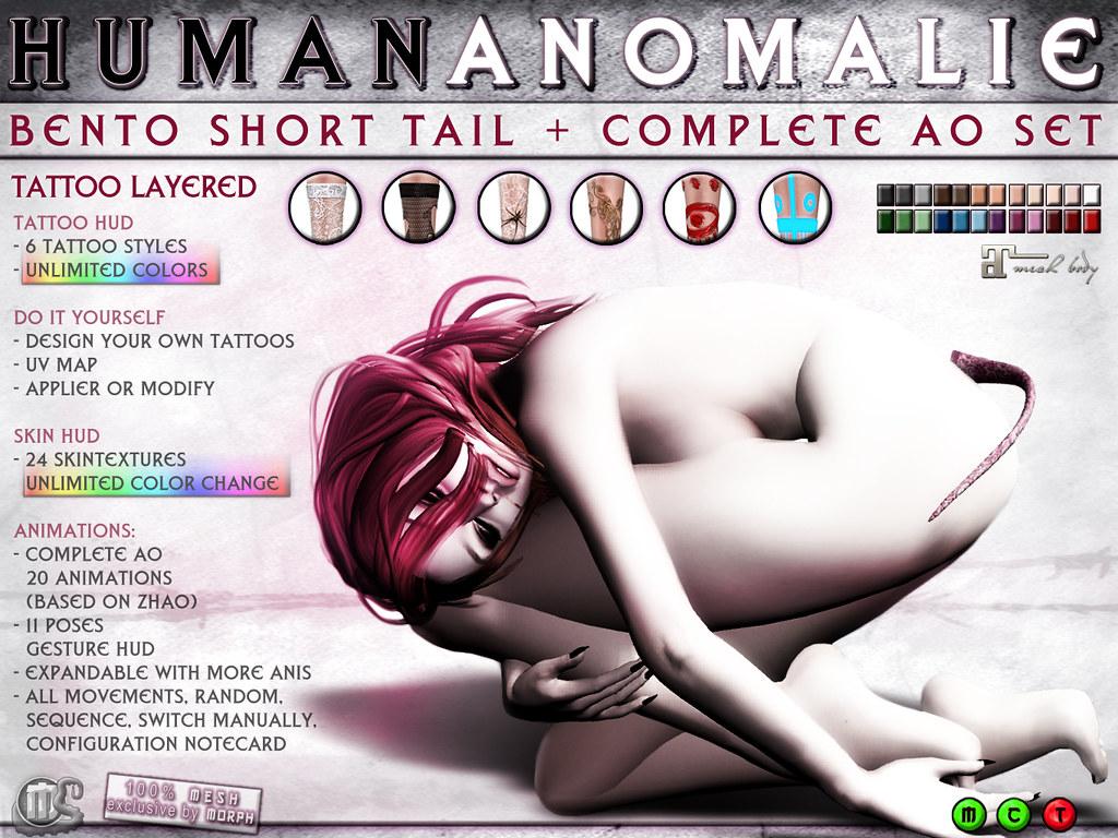 0o Human Anomalie TATTOO