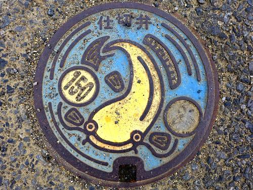 Yoshikawa Saitama, manhole cover 3 (埼玉県吉川市のマンホール3)