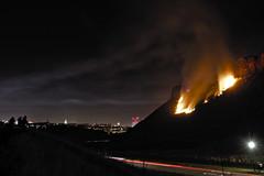 Salisbury Crags Fire
