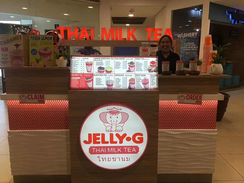 Jelly G Thai Milk Tea, UP Town Center