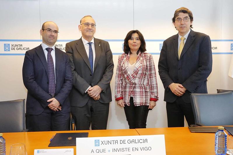 A Xunta e a Universidade de Vigo poñen en marcha o primeiro programa formativo de especialista en 5G de Galicia