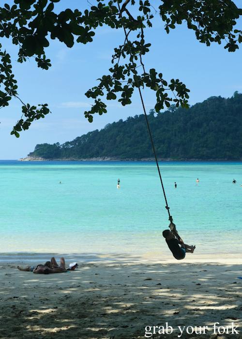 Mai Ngam Beach in the Surin Islands National Park in Khao Lak, Thailand