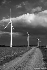 Éoliennes Mont de Fiennes - Photo of Rety