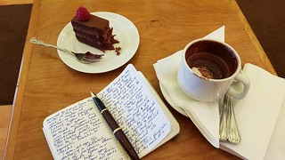 My writing runs on chocolate