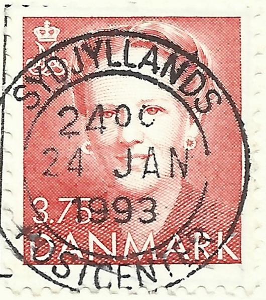 Denmark - Scott #891 (1990)