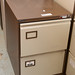 Two door filing cabinet E75