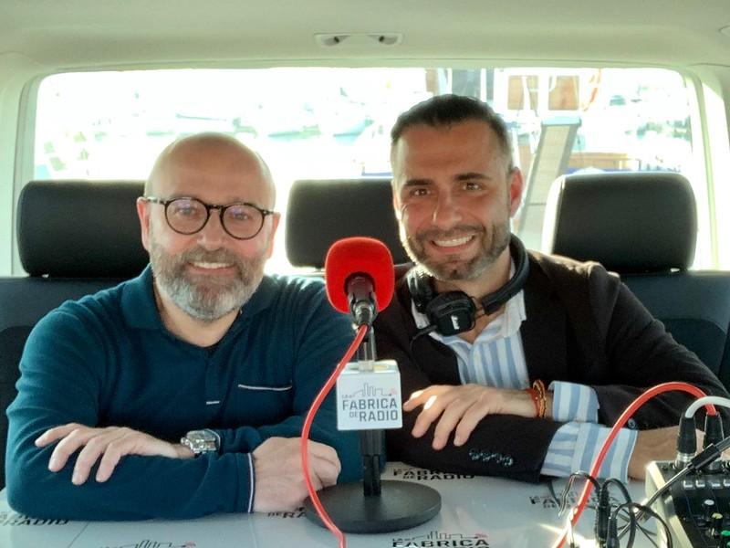 Musicoctel Rafa Serra Paco Cremades La Fábrica de Radio La Marina de Valencia Azul