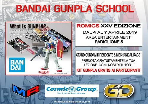 Romics 2019 -Gunpla Scholl