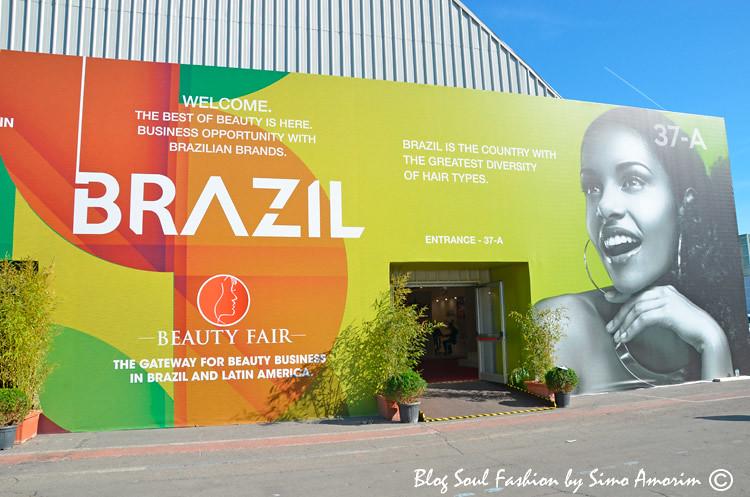 Esse ano tive um pavilhão inteiro dedicado ao Brasil!