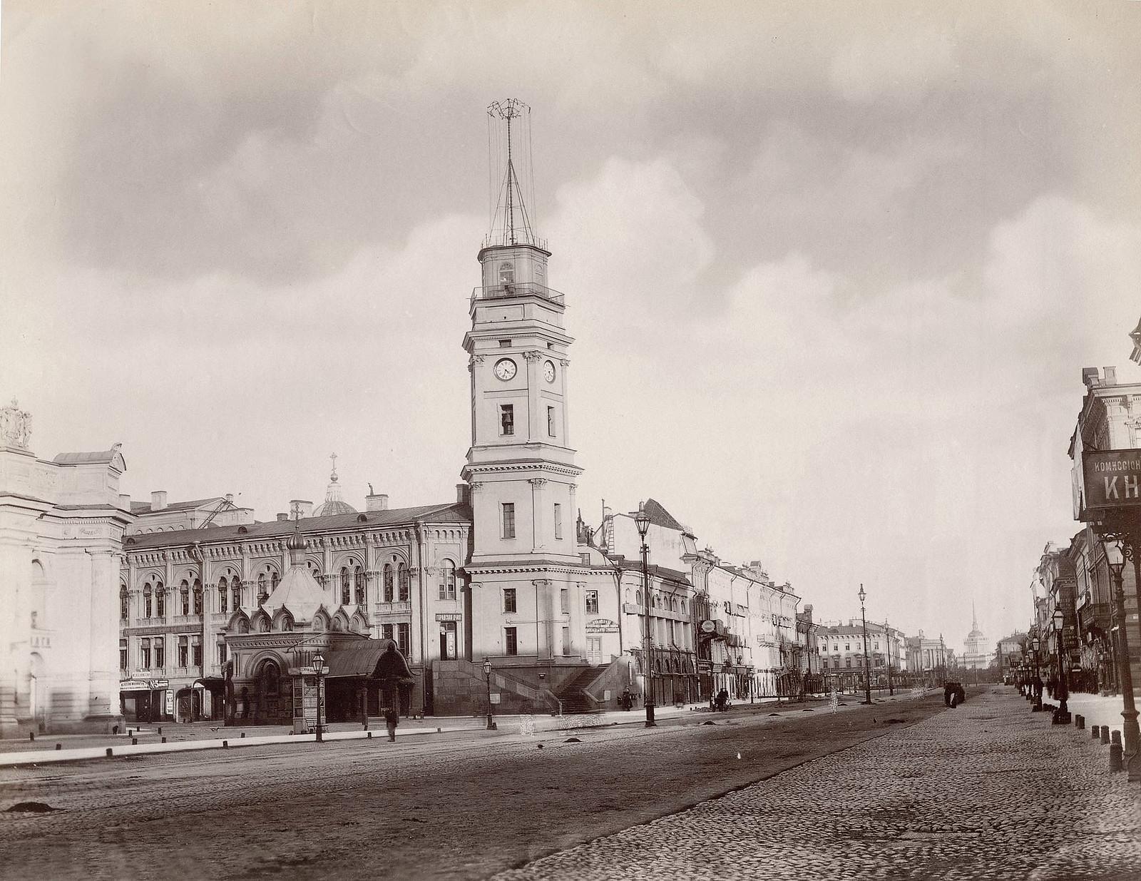 Невский проспект. 1888.