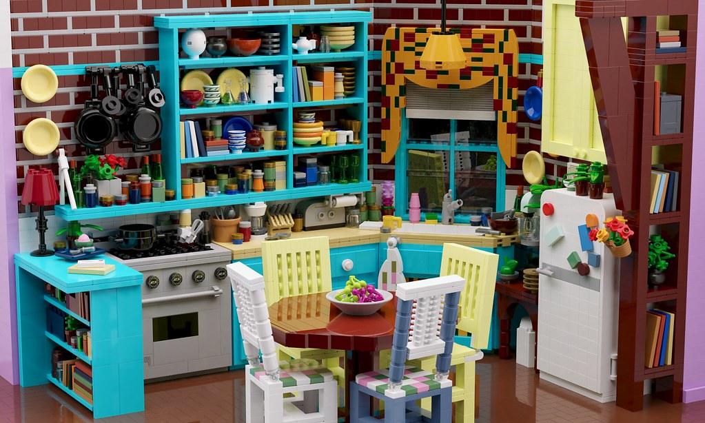 Friends — Monica's kitchen