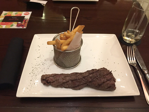 86 - Beef Tenderloin & French fries - Hotel Intercontinental - Santo Domingo