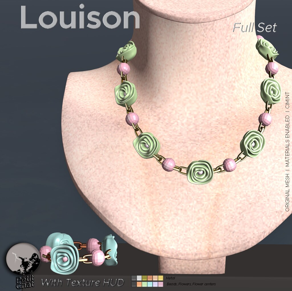 Louison Necklace & Bracelet @ The Chapter Four Jan 19