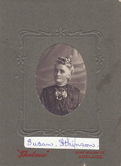 Susan Atkinson, nee Whitelaw