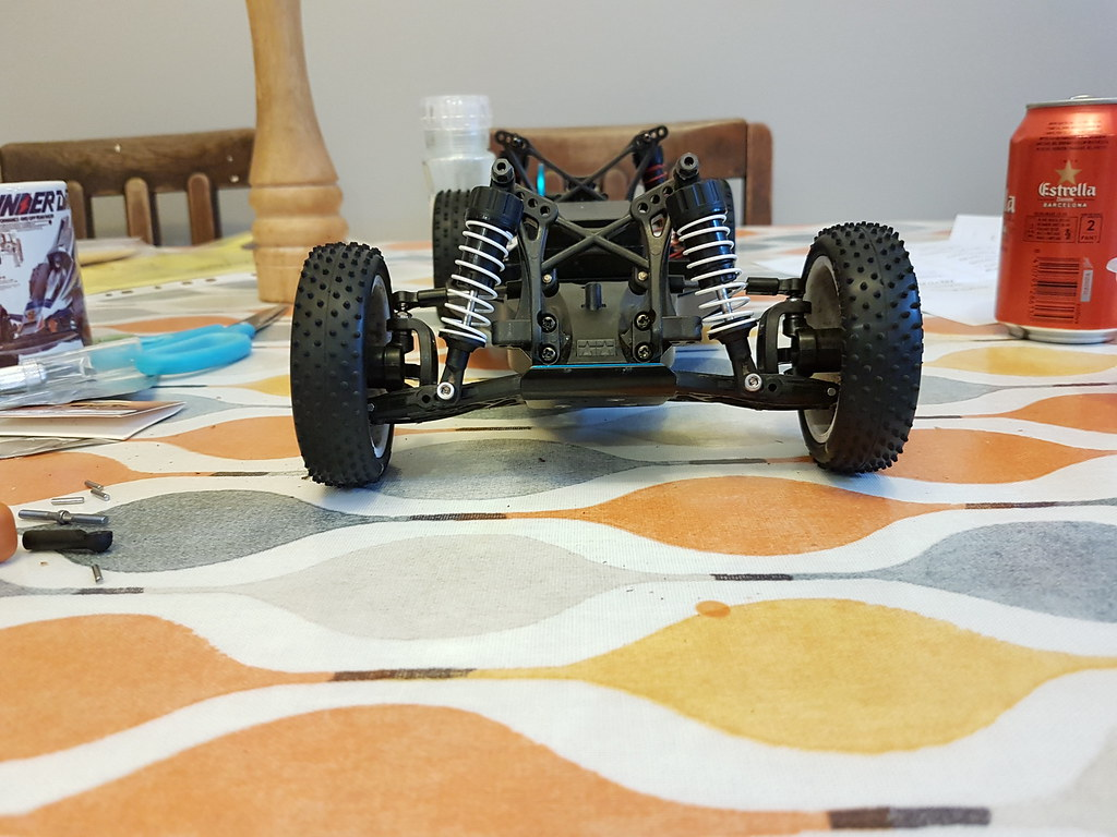 Tamiya TRF201 to RR-03Ra project