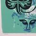 detail Wonder by Woodie Anderson 4 color screen print handprinted by artist
