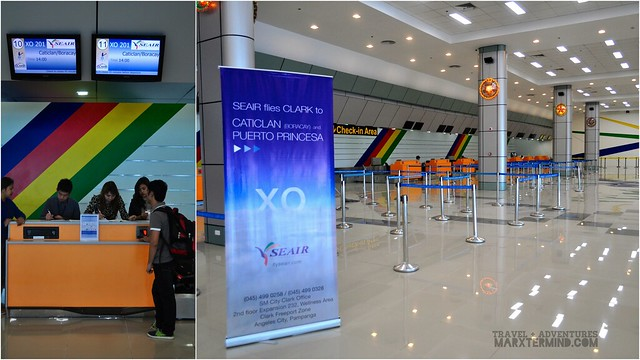 Clark International Airport SEAir Check-in Counter